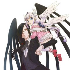 FanArt of Kanna and Fafnir by Unknown person
