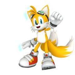 Tails the Fox from Sonic Free Riders.