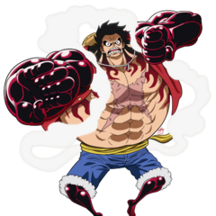 Gear 4th Luffy