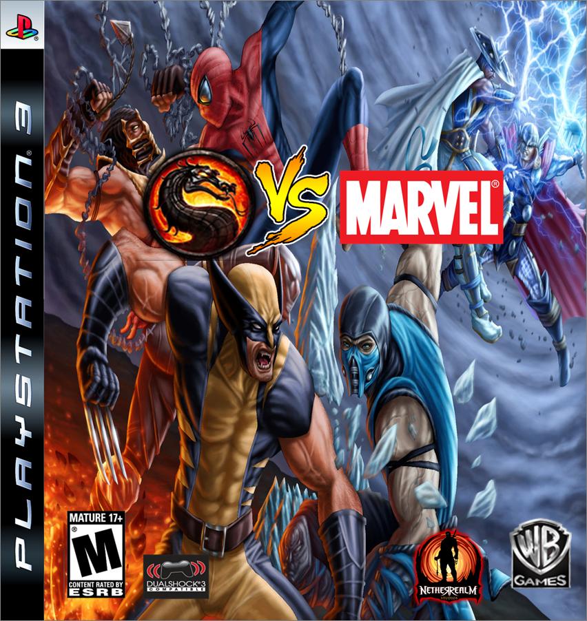 Mortal Kombat VS Marvel Universe | Game Ideas Wiki | FANDOM