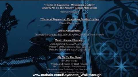Bayonetta Walkthrough - The Ending Credits