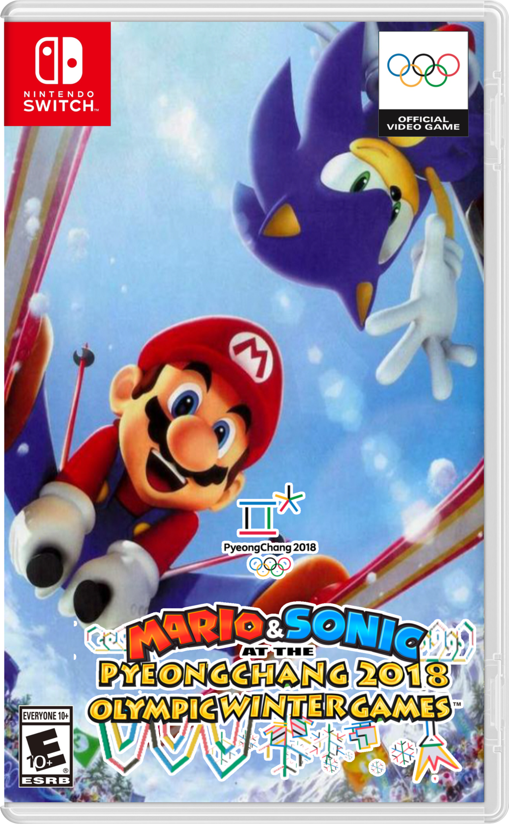 Mario And Sonic At The Pyeongchang 2020 Olympic Winter Games Release Date.Mario Sonic At The Pyeongchang 2018 Olympic Winter Games