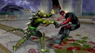 Mortal Kombat 5 Deadly Alliance (2002) Reptile Playthrough (60 FPS 1080p) XBOX