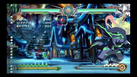 BBCF GOD OF WAR
