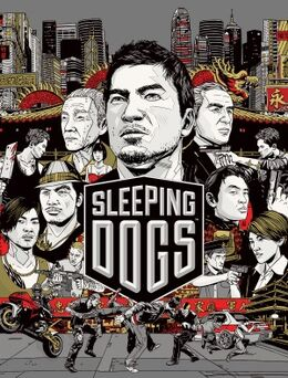 Sleeping Dogs - Square Enix video game cover