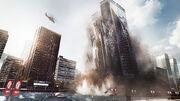 Battlefield 4 - Levolution - Siege of Shanghai - Skyscraper Collapsing