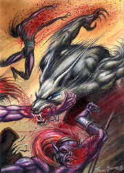 Runs-Wild, Werewolf Traveler