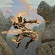 Flamekin Bladewhirl
