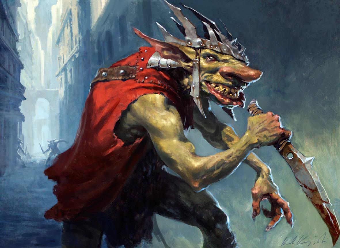 Image result for krenko mob boss art
