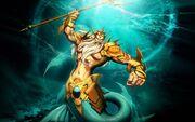 Poseidon, Atlantean King