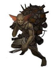 Sand Goblin Scavenger