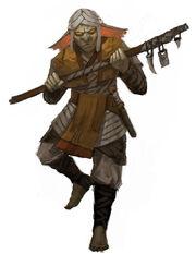 Sand Goblin Shaman