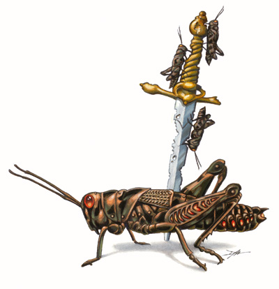 Bronze Locust | GameLore Wiki | FANDOM powered by Wikia