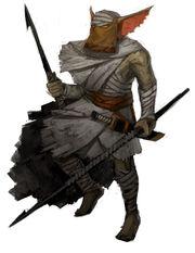 Sand Goblin Javelineer