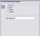 Speed Horizontal