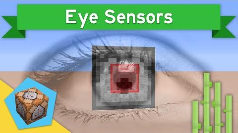 EYE SENSORS in Vanilla Minecraft 1.9 Eye Sensors Command Block Creation