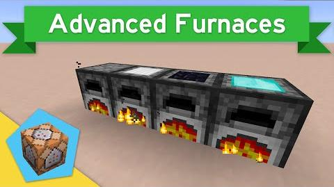 IRON FURNACES in Vanilla Minecraft 1.9 Advanced Furnaces