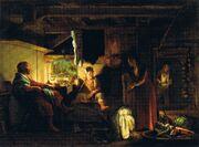 Adam Elsheimer - Jupiter und Merkur bei Philemon und Baucis