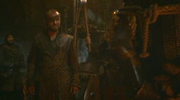 Beric Dondarrion and Hound Clegane S3E4
