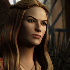 Cersei as she appears in the <a class=