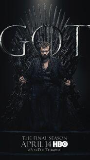 Season 8 poster Euron