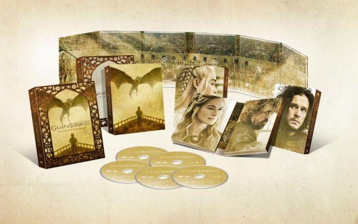 Season 5 box set contents