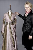 Мишель Клэптон и платье Серсеи