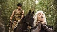 Rakharo and Viserys Targaryen 1x03