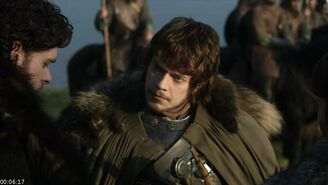 Theon and Robb 1x09