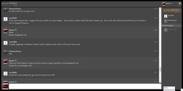 Chat log 2