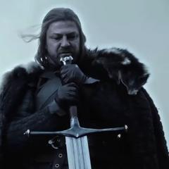 Еддард і його меч.