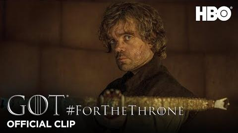 """Tyrion and Tywin"" ForTheThrone Clip Game of Thrones Season 4"
