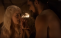 Drogo and khaleesi.PNG