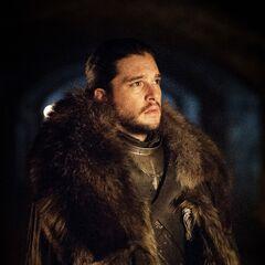 Jon w podziemiach Winterfell