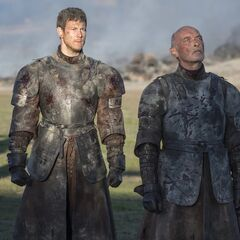 Dickon and Randyll refuse to bend the knee.