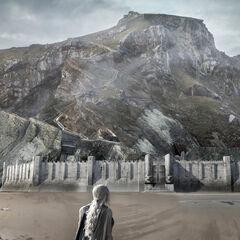 Daenerys an der Küste von Drachenstein