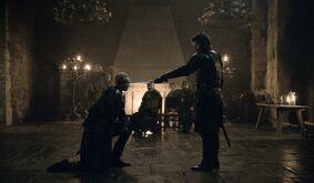 Jaime Knighting S8 E2