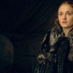Sansa schaut Ramsays kurz beim Sterben zu und wendet sich dann lächelnd ab