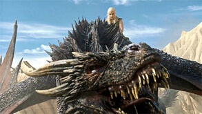 Blood of my blood Drogon with Dany