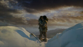 Jon and Ygritte kissing