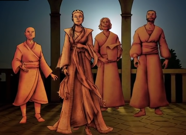 File:Nymeria and her High Lords.png