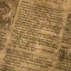 Casa Targaryen, primeira página visível.