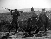 Russian deserters WWI