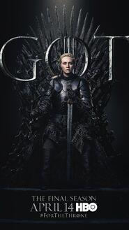 Season 8 poster Brienne