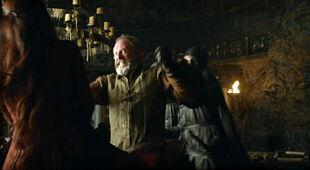 Davos Melisandre assassination S3 E1