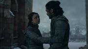 Arya warns Jon S8 Ep6
