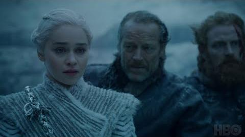Game of Thrones Season 7 Episode 5 The Night King and Viserion (HBO)