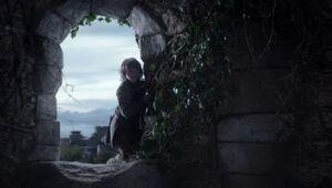 101 Bran Fenster zerstörter Turm