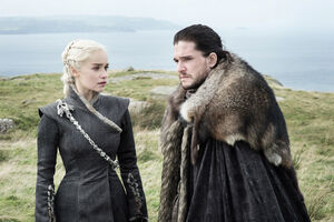 705 Daenerys Targaryen und Jon Schnee