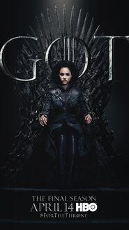 Season 8 poster Missandei